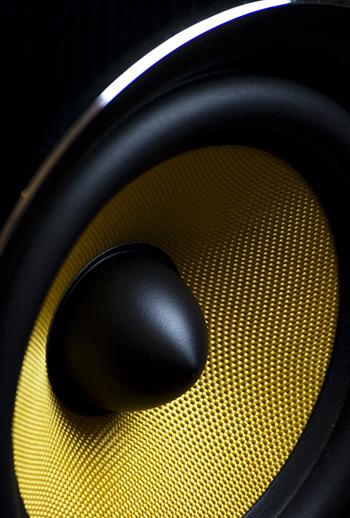 Sidobild Hogtalare Speaker KRK Amptown Studio Helsingborg
